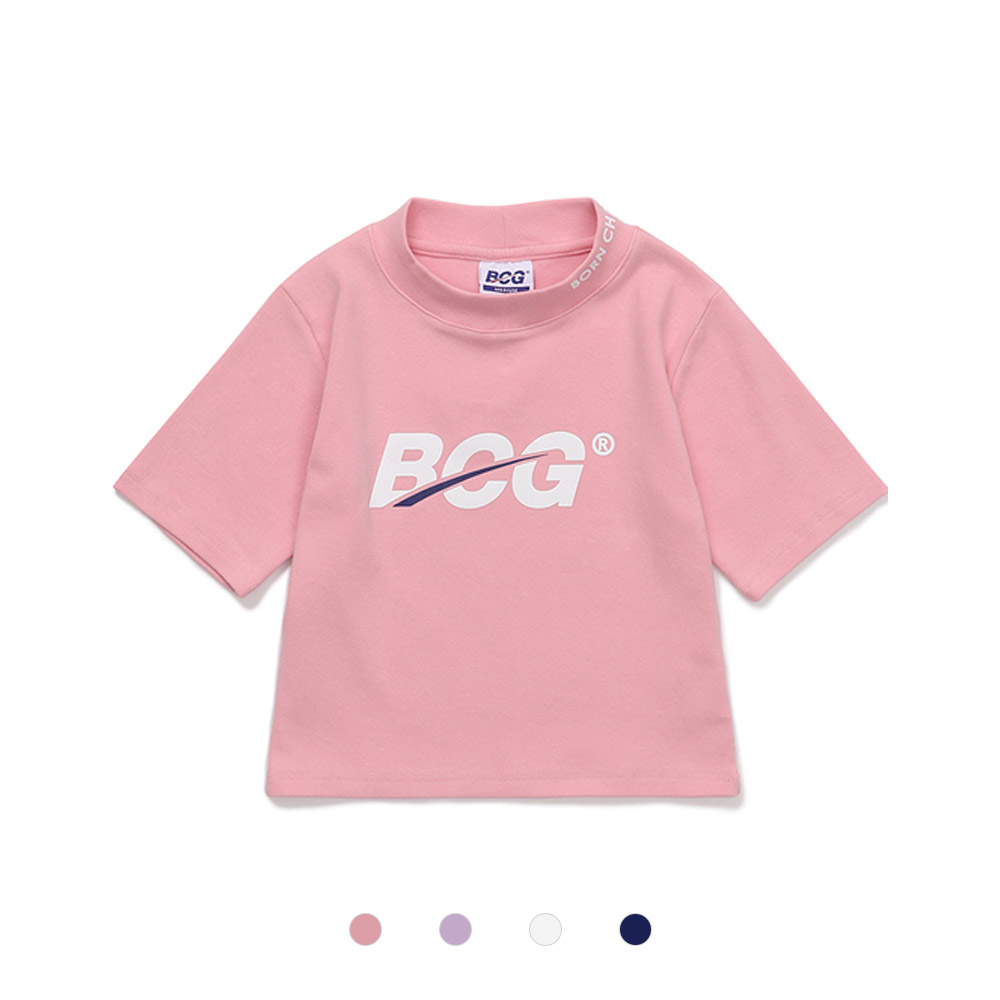 [BORNCHAMPS] BCG LOGO TEE CESBGTS01 4COLOR